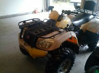 For Sale or Trade 2007 CMI Moose Tracker 4 wheeler.