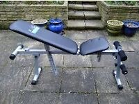 Carl Lewis exercise/fitness bench, as new