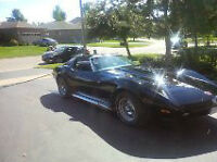 1974 CORVETTE -  RARE 454 Manual Shift