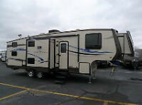 Fifth wheel - (Caravane selette) 2012 Sunset Trail SF28BH