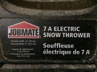 Souffleuse à neige électrique pour trottoir
