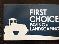 First Choice Paving and Landscaping