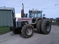 White 2-180 4X4 tractor for sale