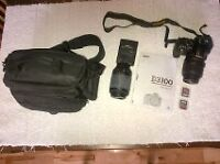 Nikon D3100 for sale with all accessories and extras