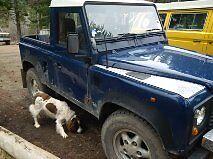 1998 Land Rover Defender Pickup Truck