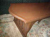 Solid  Antique, Maple  Coffee Table With Brass Accents!!! Kitchener / Waterloo Kitchener Area image 1