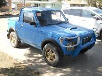 1993 LADA SUV, 4X4, MANUAL, $5000, OBO OPEN TO TRADES