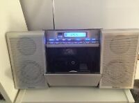 Panasonic Micro system with built-in CD player