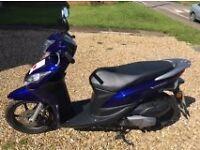 Honda vision 50cc 2012 plate (blue)