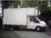Man with Large Van (Boxed Luton)