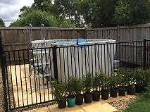 Best Away Steel Pro  Above ground pool With Fencing Doreen Nillumbik Area Preview