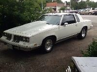 1982 Oldsmobile Cutlass t-top - SELL OR TRADE FOR?
