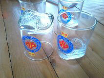 Durham Regional Police Cocktail Glass Set Peterborough Peterborough Area image 3