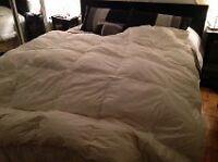 Couette lit DOUBLE 3 en 1 été comme hiver !