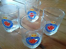 Durham Regional Police Cocktail Glass Set Peterborough Peterborough Area image 1