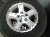 2008 DODGE RAM RIMS AND TIRES