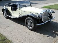 1929 MERCEDES BENZ KIT CAR , $7000, OPEN TO ALL OFFERS