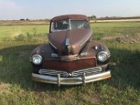1946 Ford With Suicide Doors