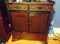 Antique Dresser with two night tables