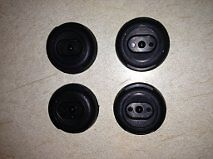 NISSAN 300ZX  1984-1989 & 1990-1996 T-TOP (4) T-TOPS SHADE HOLDERS (OEM)