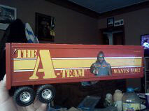 A-TEAM TRAILER AND THERMOS $75