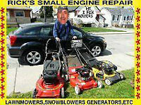 Lawnmower and snowblower repair and sales
