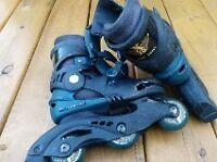 roller blade patins roues alignées