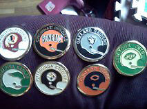 NFL FROM 1970  $15 each