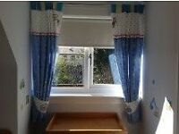 Baby Boy Nursery Curtains, Cot Bed Set and Light Shade (all matching from Next)