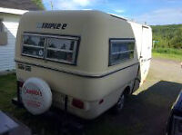 small camper trailer, Boler  -  triple e Surf sider