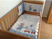 Baby Boy Cot Bed Set from Next (£10)