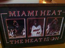 Miami heat Fully framed Championship photo with Shaquil ONeal