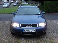 Audi A4 Diesel 1.9 Tdi, 5 Speed,Estate, Blue, FSH