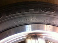 Kumo Tires and rims