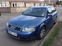 Audi A4 ,TDi, Diesel, 5 Speed, Blue, FSH