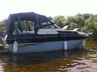 32' sleeps 6 looking to trade for smaller boat
