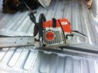 STIHL chainsaw...POWERFUL (delivery available almost anywhere)