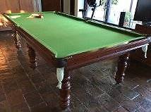 "Pool Snooker table (9' 4"" x 5"" or 2850 x 1480) Bilgola Pittwater Area Preview"