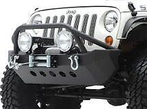 NEW smittybilt jeep jk front bumper and winch package