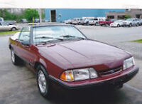 1987 Mustang Convertible In Excellent Condition from California