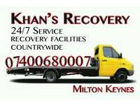 RECOVERY SERVICE 24/7 Milton keynes and around