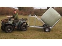 ATV Quad Bike Single Bale Trailer