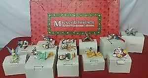 Mickey and friends Tree Ornaments