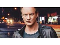 STING seated TICKET - MANCHESTER APOLLO - 7TH APRIL 2017 - £105