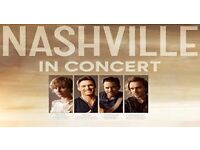 NASHVILLE in Concert, Royal Albert Hall, Sunday Matinee performance, 11th June, 2x tickets for sale