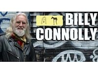 BILLY CONNOLLY TICKETS - BARCLAYCARD ARENA - 2ND NOVEMBER - 4 AVAILABLE - £55 EACH
