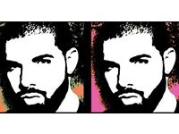 DRAKE TICKET - BIRMINGHAM on 22ND FEBRUARY - SEATED - ONE AVAILABLE
