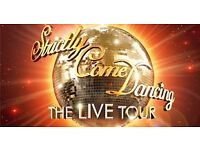STRICTLY COME DANCING LIVE SHOW - GLASGOW - FRIDAY JANUARY 27TH - FOUR GOOD TICKETS
