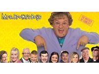 2x tickets for Mrs Browns boys - Good Mourning Mrs Brown Cardiff