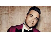 Robbie Williams tickets 3rd June good seats